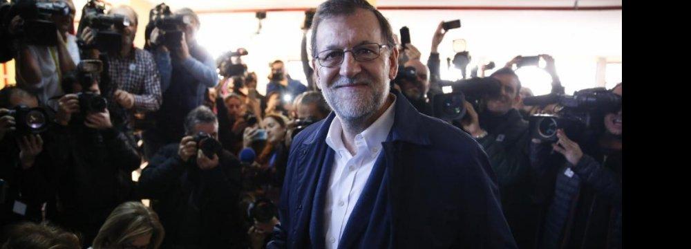 Spain Misses Deficit Target