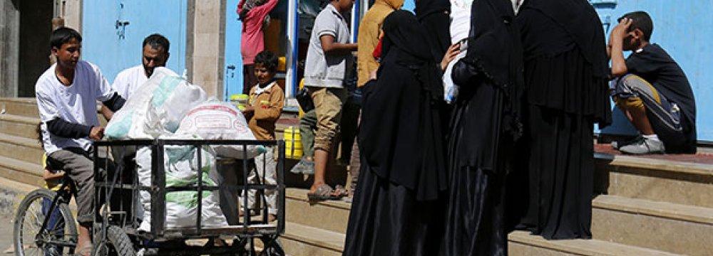Yemen Food Load Hit as Banks Cut Credit