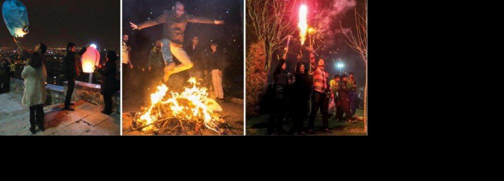 Social Media Calls for Simple 'Chaharshanbe Suri'