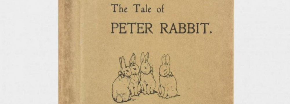 Rare Peter Rabbit Edition Set to Sell for $25,000