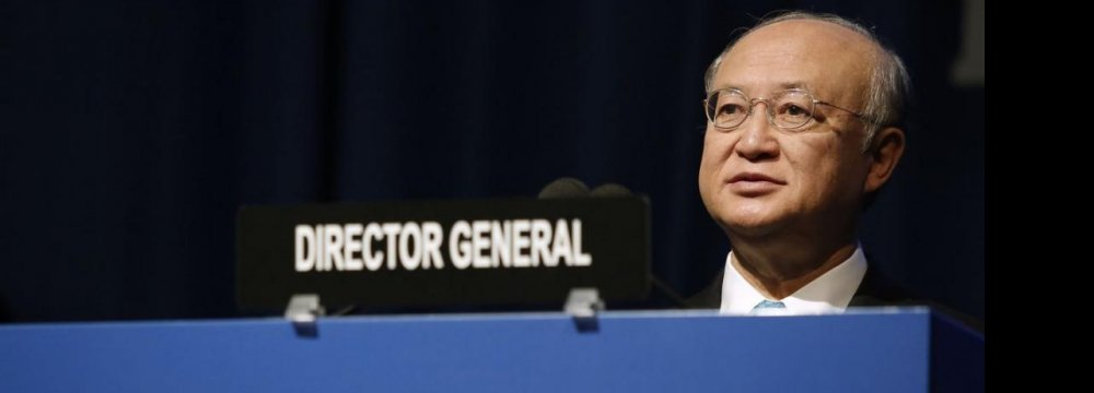 IAEA Chief: Iran Cooperating  Beyond Commitments