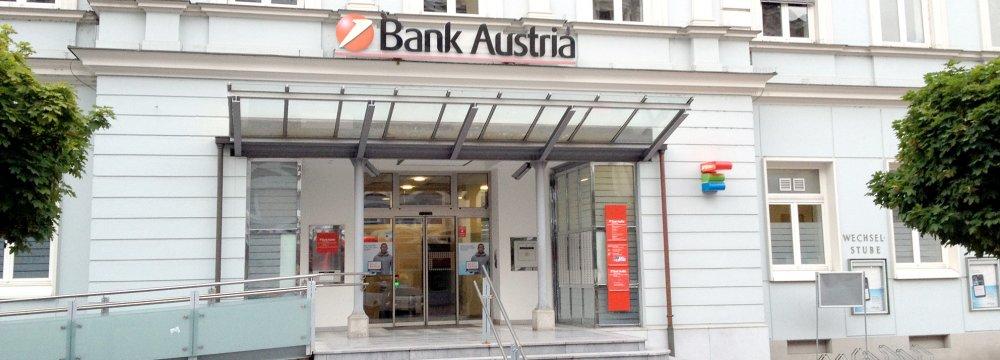 Bank Austria Links Up With Iranian Lender