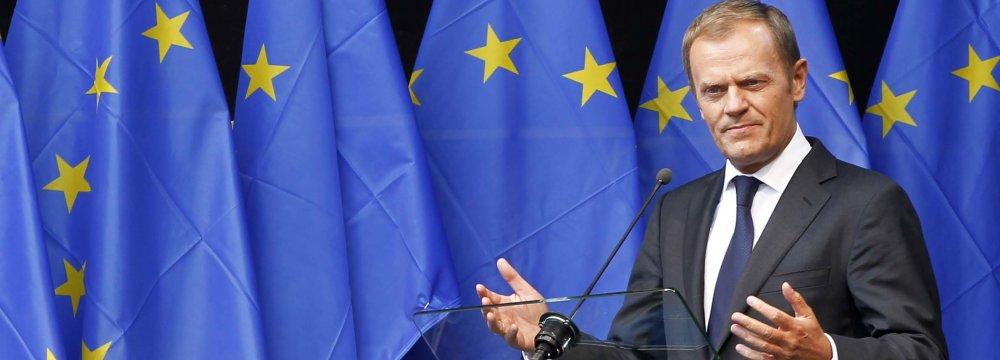 Tusk Visits EU States Ahead of Turkey Migration Summit