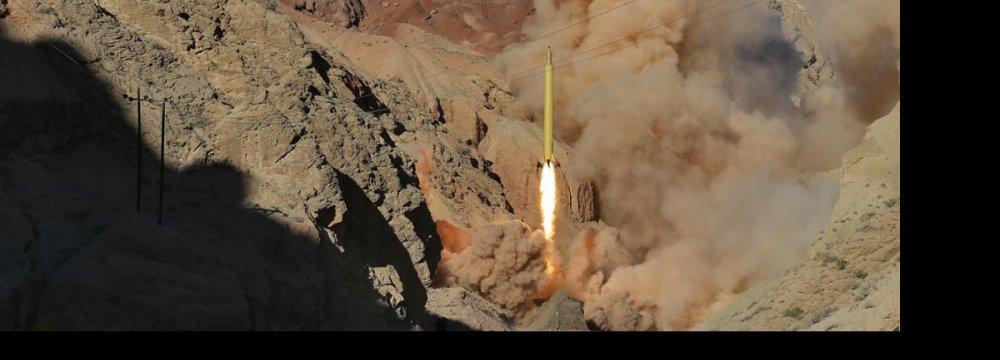 Missile Tests Serve Deterrent Purpose