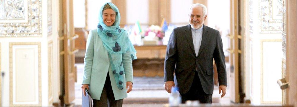Iran, EU Outline Vision for Wider Cooperation