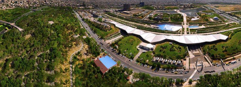 Tehran Book Garden Ready