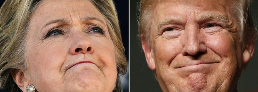 At Long Last, Clinton or Trump?