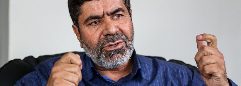 Crashed Chopper Belonged to IRGC