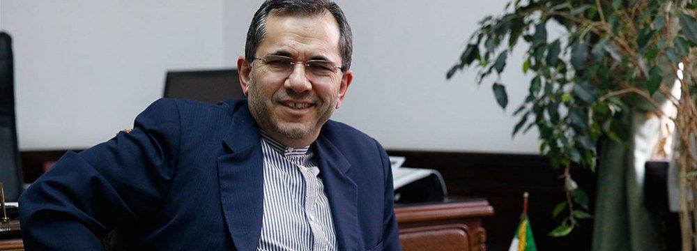 Deputy FM, EU Lawmakers Discuss Ties