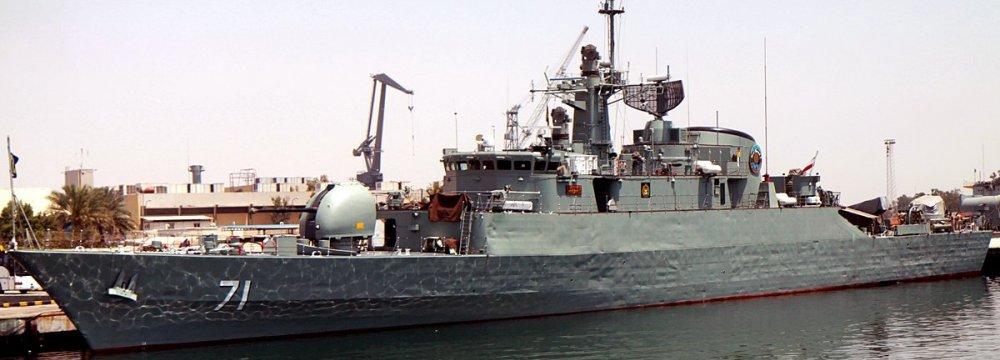 Navy Flotilla to Head for Atlantic Ocean