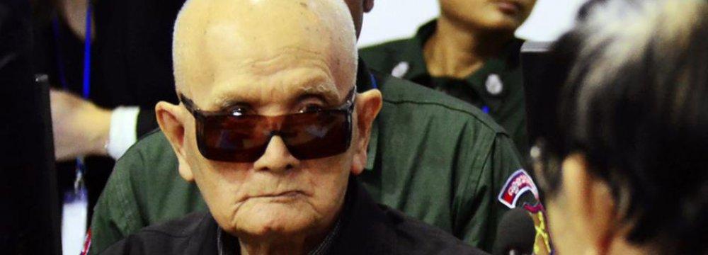 Cambodia Upholds Khmer Rouge  Despots' Life Sentences