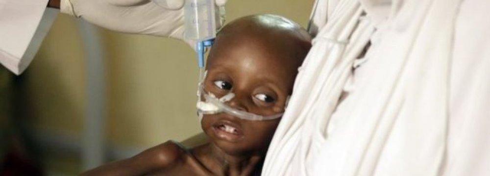 Nigerian Children Risk Dying  of Hunger