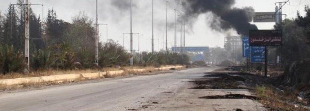 Militants Killed 84 Civilians in Aleppo