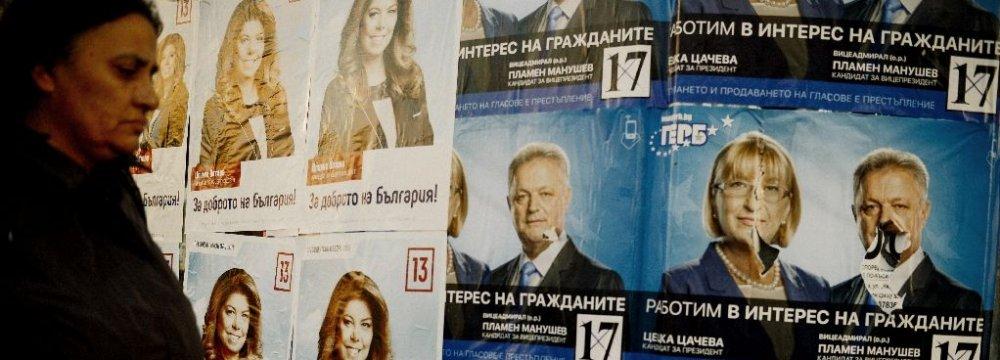 Test for Bulgarian Premier as Presidential Election Begins