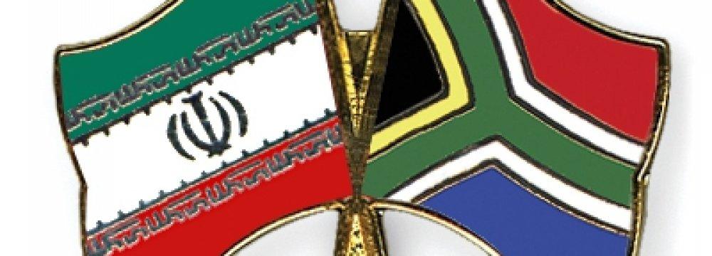 93% Rise in Iran-S. Africa Trade