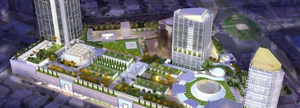 UK Firm Wins Shopping Mall Projects in Iran