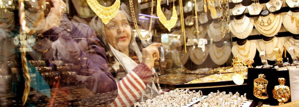 Gold Loses Glitter