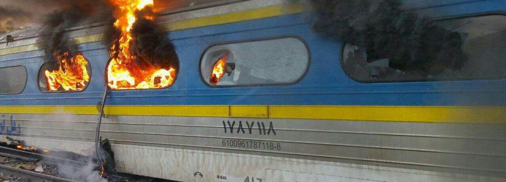 Private Insurer to Recompense Semnan Train Crash Victims