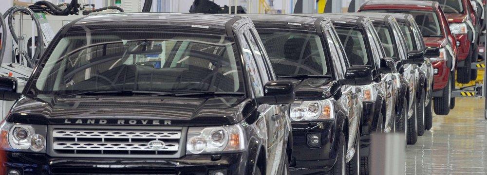 W. Europe Car Sales Decline