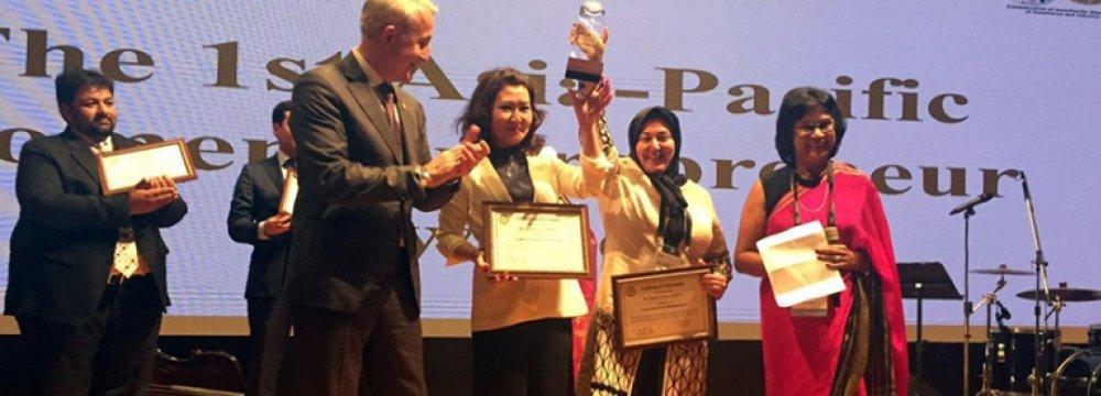 CACCI Award for Fatemeh Moqimi
