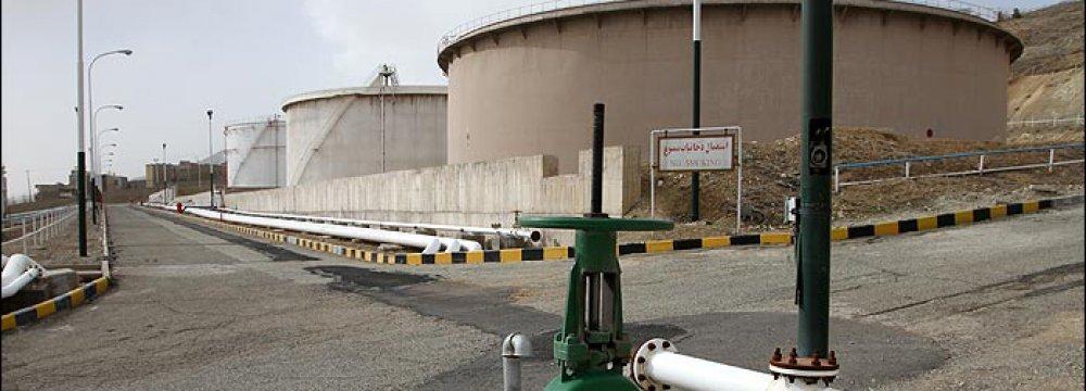 Tehran's fuel depot is also located on Tehran Northern fault in Shahran neighborhood.