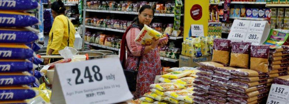 India Retail Sales Drop to 25%