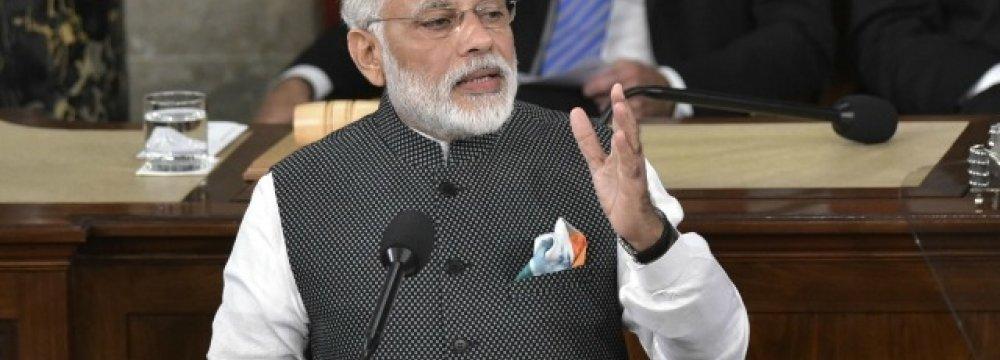 Modi Aiming for Cashless Economy