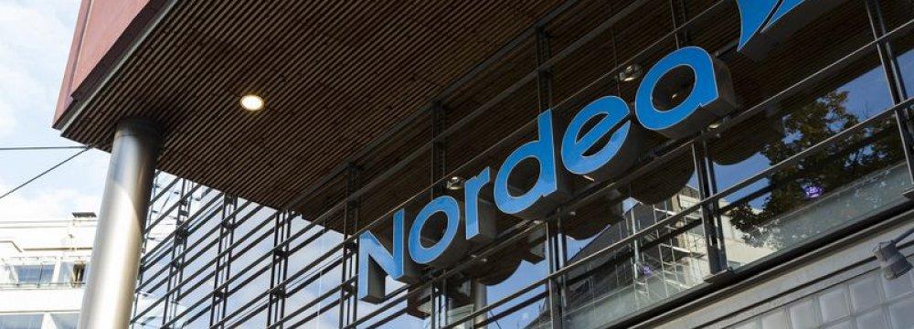 A Nordea Bank AB branch in Helsinki.