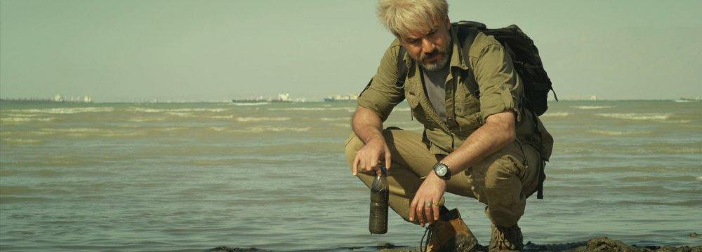 Amir Aqaee playing Younes in Mermaid