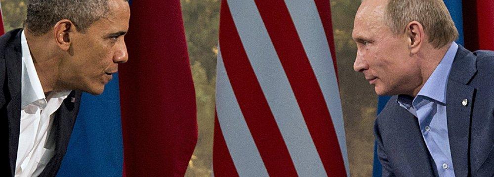 Syria, Ukraine Top Obama-Putin Meeting Agenda