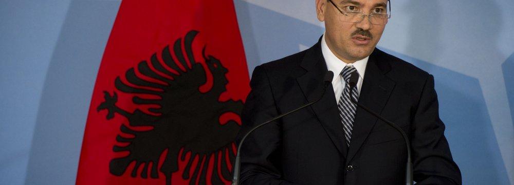 New Envoy Meets Albanian President