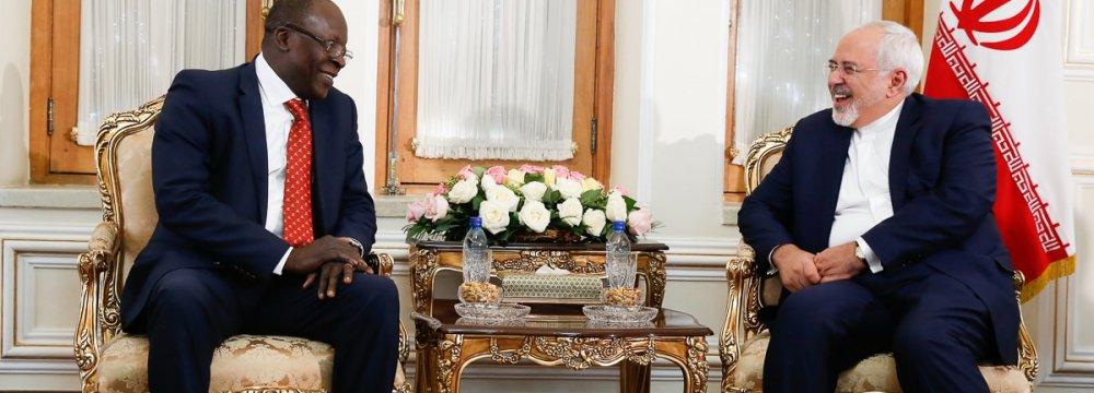 Benin Special Envoy in Tehran