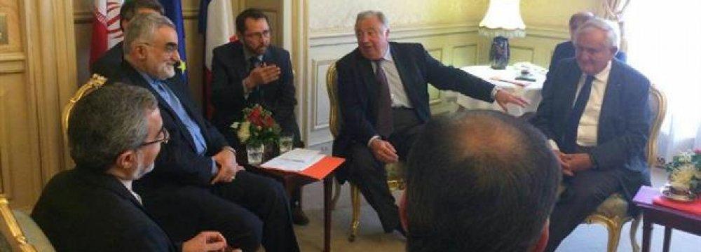 French Speaker Meets Majlis Delegation