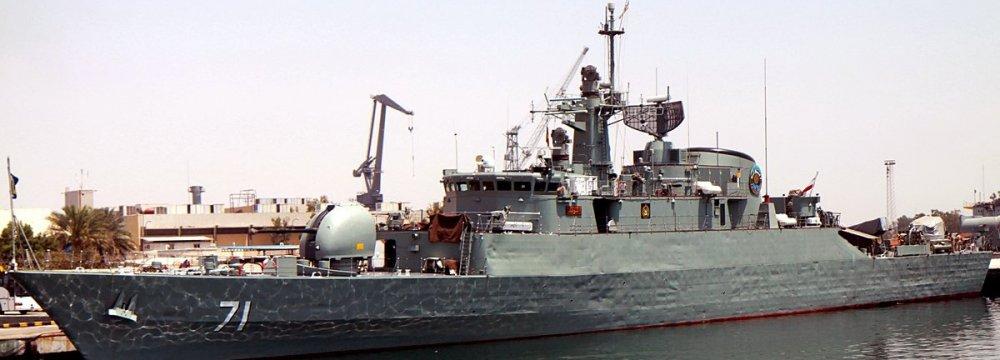 Naval Flotilla Docks in Tanzania