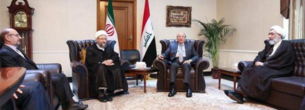 Tehran, Baghdad Hold Talks on Human Rights
