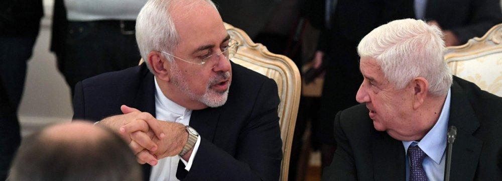 Iran, Russia, Syria Reinforce Anti-Terror Alliance