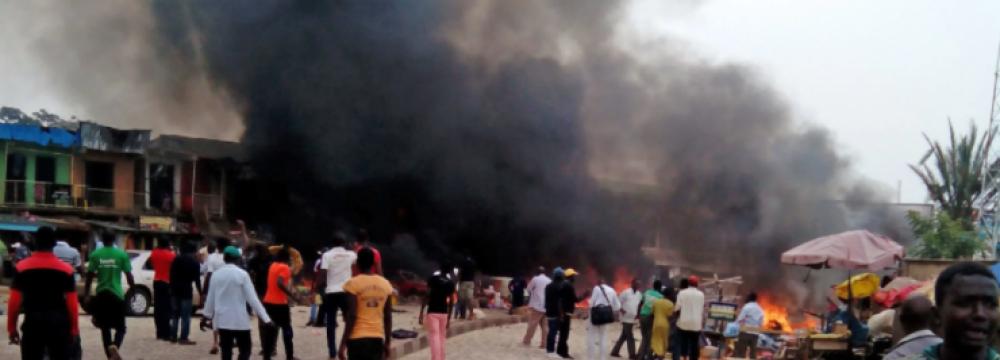 Bomb Blasts  Kill 9 in Nigeria.