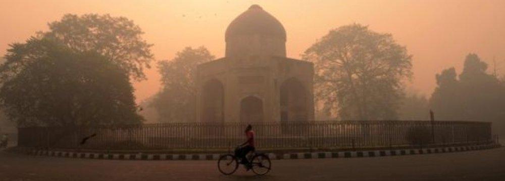 Diwali Fireworks Choke Delhi