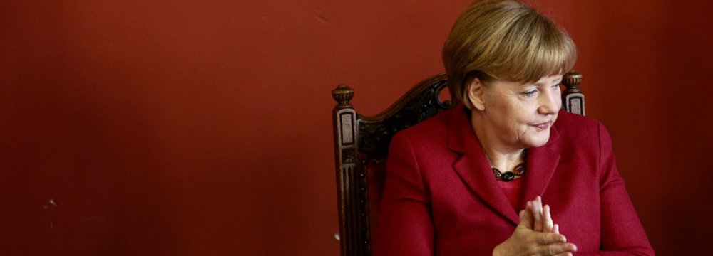 Merkel Toughens Stance on Rejected Asylum Seekers