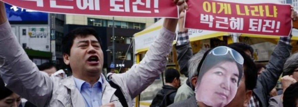 S. Korean President Orders 10 Advisers to Quit
