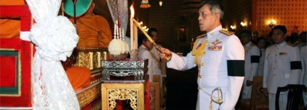 Thailand's Crown Prince Maha Vajiralongkorn wants a delay before acceding to the throne.