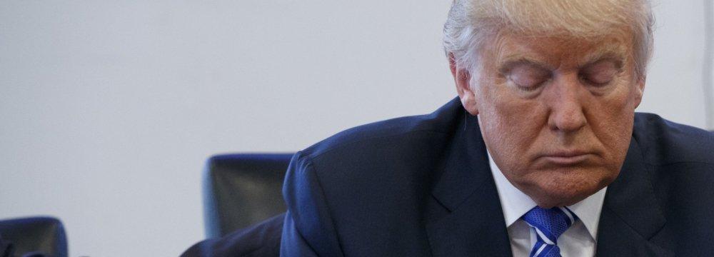 Trump Campaign Admits Trailing