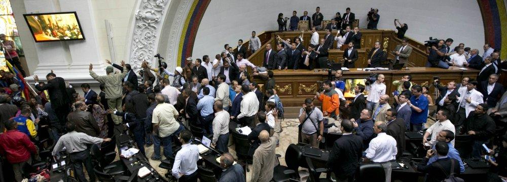 Venezuela's Congress Puts Maduro on Trial