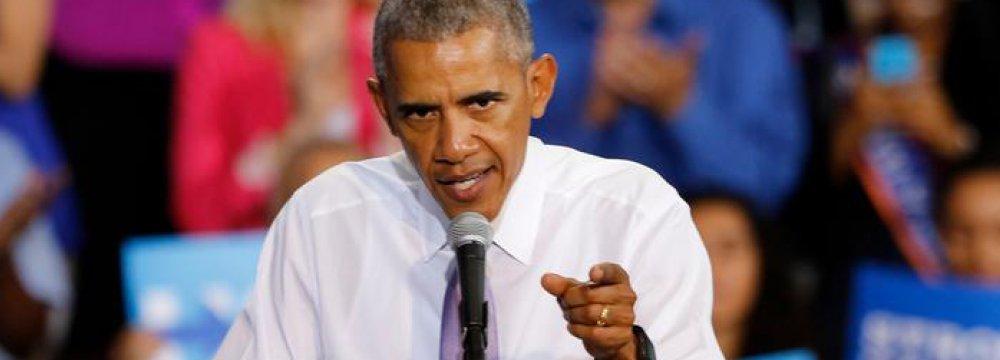 Obama: Trump's Election Rhetoric Dangerous