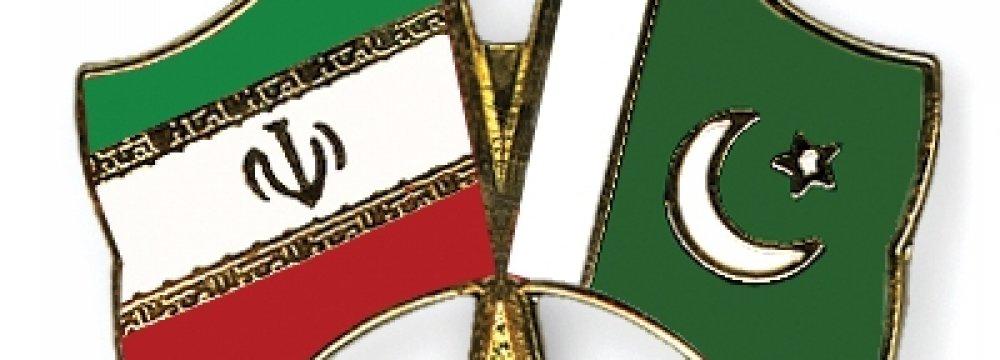Iran's Trade With Pakistan Thriving