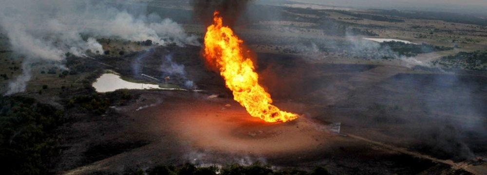 Blast Halts Gas Flow to Turkey