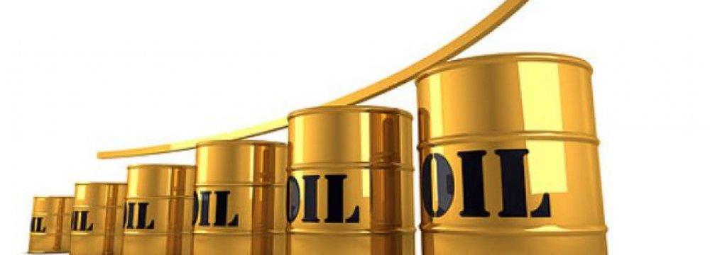 Crude Prices Edge Up