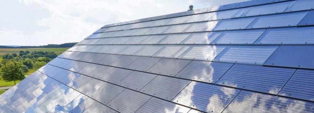 tesla unveils new solar roofs financial tribune. Black Bedroom Furniture Sets. Home Design Ideas