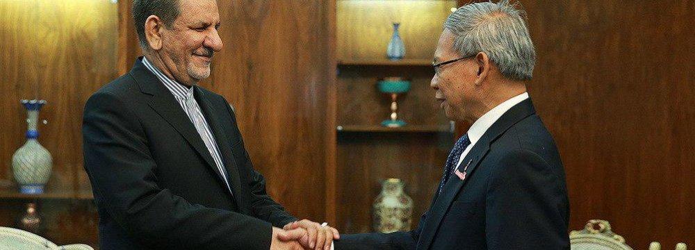 Malaysia, Iran Seek Ways to Remove Banking Hurdles