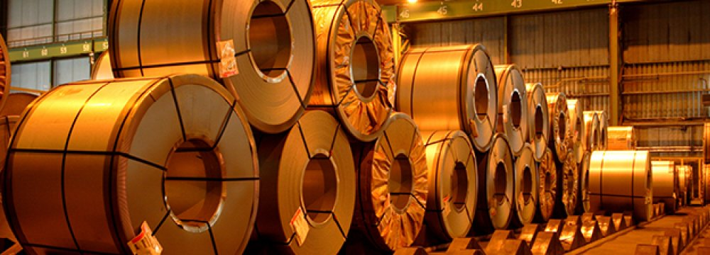 Hot rolled coiland cold rolled coil account formost of ArcelorMittal Temirtau's sales to Iran.